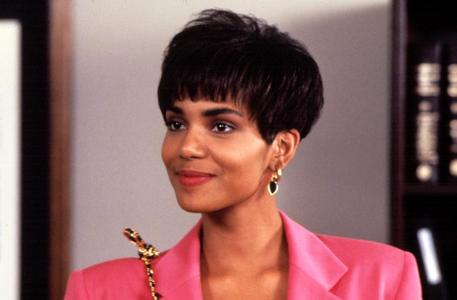 What was Halle Berry's character's name in 'Strictly Business' ?