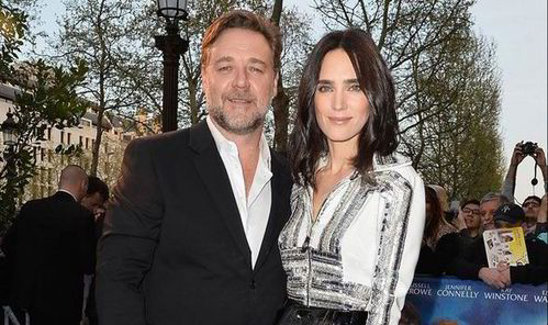 How many movies have Russell Crowe and Jennifer Connelly played husband and wife?