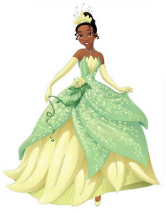 Tiana is the first Africa-American 디즈니 princess