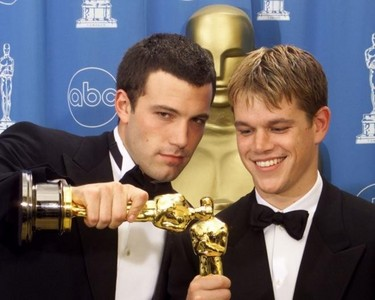 Out of these 2 films/movies both starring Ben Affleck & Matt Damon, which one was it they've both won an Oscar for?