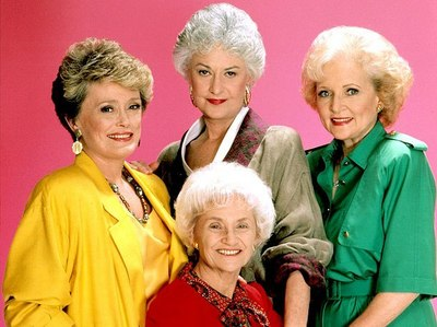 Finish this sentence. Dorothy, Blanche, Rose & Sophia all belong to a TV series/show called ... Girls.