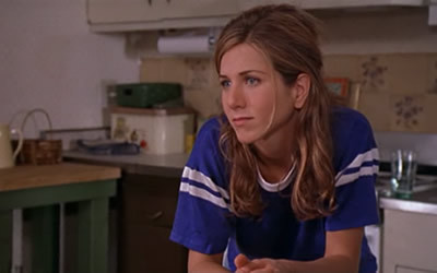 Back in 1998 Jennifer Aniston used to portray Nina in a romantic comedy/drama. Who was the object of her affection from a film/movie title?