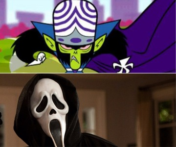 True/False: Mojo Jojo's voice actor is the same voice actor of Ghostface from the horror movie series; Scream
