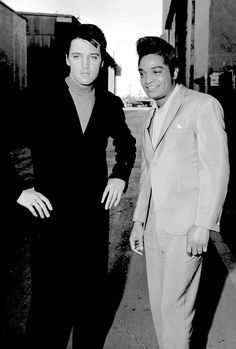 Elvis and Jackie Wilson were close friends