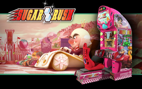 What año did Sugar Rush become operational in Wreck-it Ralph?