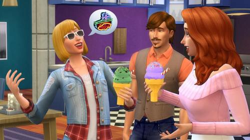 Which of the following is NOT a flavor Sims can make in the ice cream machine?
