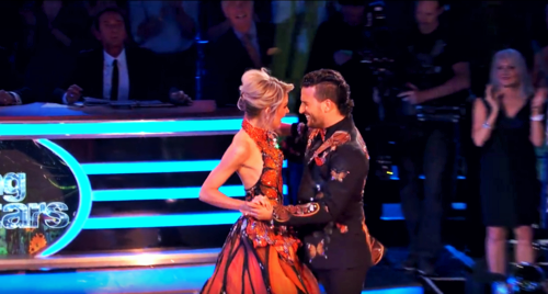 What score did Lindsey and Mark earn for their Quickstep?