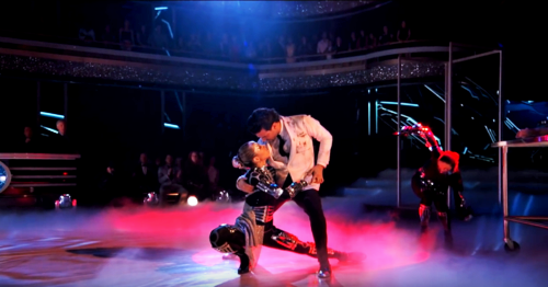 What score did Lindsey and Mark earn for their Argentine Tango?