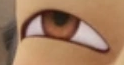 Who's eye is this?