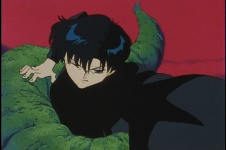 Who is Mamoru reaching for?