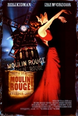 What was the name of a lead female character in 'Moulin Rouge!' ?