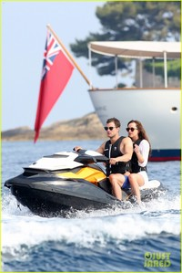 What is the name of the barco Christian and Ana use during their honeymoon?