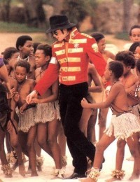Michael on tour in South Africa back in 1997