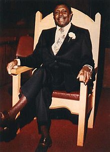 Reverend C. L. Franklin was the father of singer, Aretha Franklin