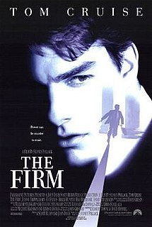 What was the name of the law firm Tom Cruise's character works for in 'The Firm' ?