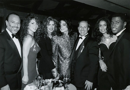 Michael was the guest of honor at the 1993 Grammy Awards after-party
