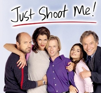 On 'Just Shoot Me' what was the name of the magazine they published?