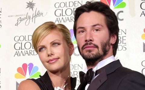 How many movie(s) have Keanu Reeves and Charlize Theron made together?
