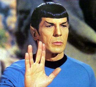 What planet did Mr Spock actually come from?