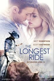 Who played Scott Eastwood's mom in 'The Longest Ride' ?