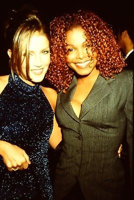 Lisa Marie was in attendance at a listening party for Janet Jackson's latest album, The Velvet Rope, back in 1997