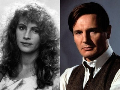 How many filmes have Liam Neeson and Julia Roberts made together?