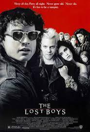 In 'The Lost Boys' who was in the poster hanging in Sam's closet ?