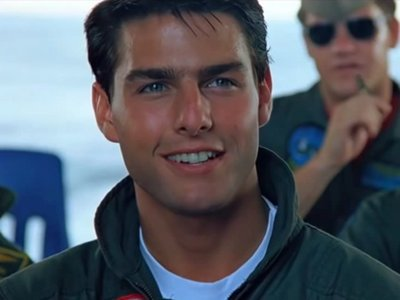 What was Tom Cruise's call sign name in 'Top Gun' ?