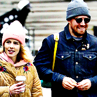 True atau False: Stephen and Emily are best Friends in real life?