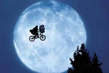 What 캔디 did Elliot use to lure E.T. in the house in 'E.T.' ?