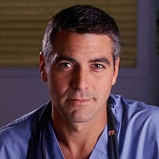 Who did George Clooney play on 'ER' ?