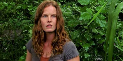 What was the name of the character Rebecca Mader played on 'LOST'?