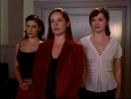 """What was the order in which Piper, Phoebe, and Paige wrote in the Book of Shadows about their demon-free lives in the episode, """"Forever Charmed?"""""""