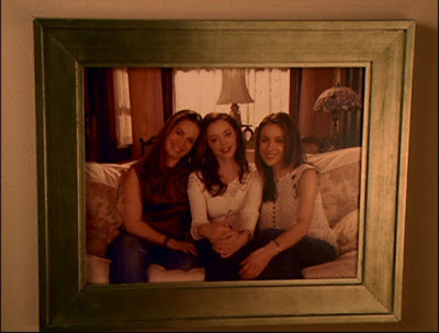 "What was the order in which Piper, Phoebe, and Paige wrote in the Book of Shadows about their demon-free lives in the episode, ""Forever Charmed?"""