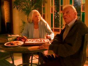 What demon version of a popular board game did Leo and Piper see older versions of themselves playing?