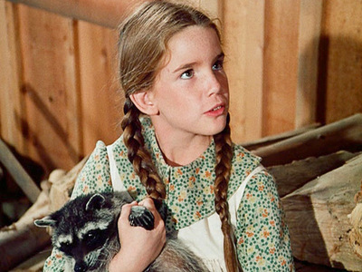 What was the name of the raccoon that Mary found and gave to Laura in the Little House on the Prairie series??