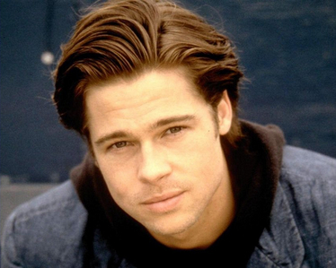 Which tv 显示 did Brad Pitt guest 星, 星级 on?