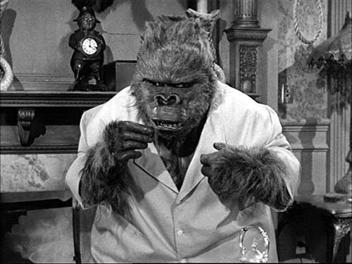 What is the name of the gorilla that visits Pugsley?