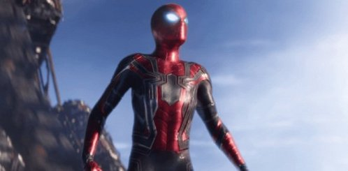 What is Spiderman's new suit called?