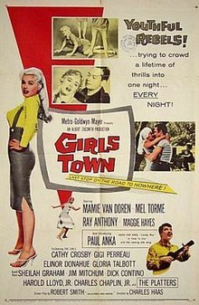 What año was the classic film, Girls Town, released