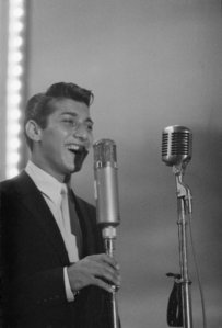 Paul Anka was one of the few white recording artists to have five hit singles make it on the Billboard R and B charts during the late-50's