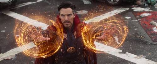 How many outcomes of the coming conflict did Doctor Strange see ?