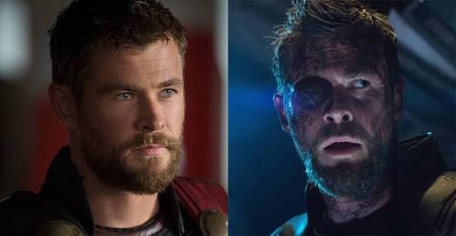 How old is Thor in Infinity War ?