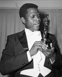 Sidney Poitier was the first Black actor to win the Best Actor award for Lillies Of The Field at the 1964 Academy Awards