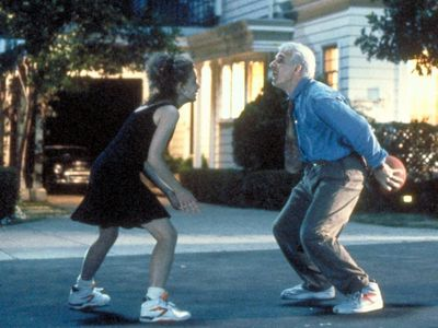 What was the name of the tenis shoe company in 'Father of the Bride' (the 90's version) ?