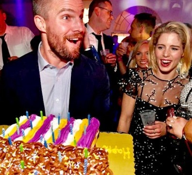 What did Emily get Stephen for his 37th Birthday? (2018)