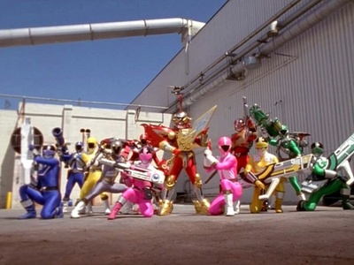 Which villain did Lightspeed and Time Force fight who teamed up with Ransik?