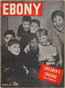 The first issue of Ebony magazine hit the newsstands back in 1945