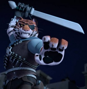 What is Tigerclaws human name?