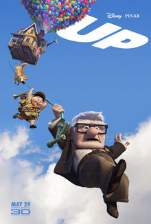What does the title of Up refer to?